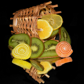 fruits with the candys by LADOCKi Elvira - Food & Drink Fruits & Vegetables