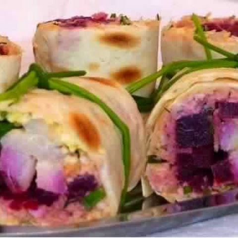 Herring In The Form Of Rolls