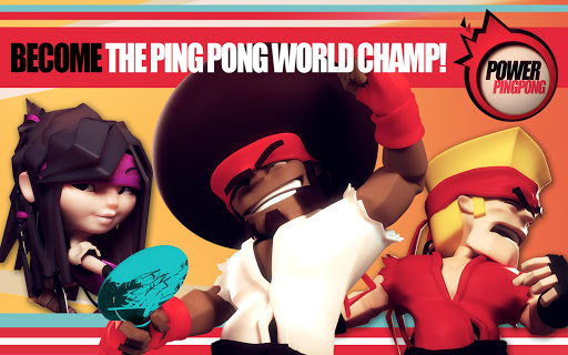 Power Ping Pong - screenshot
