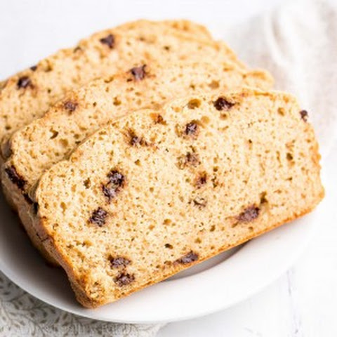 Greek Yogurt Chocolate Chip Pound Cake