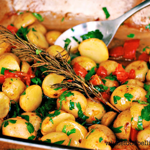 Maple Roasted Small Potatoes