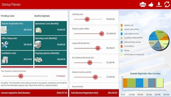 Screenshot of Startup Business Planner