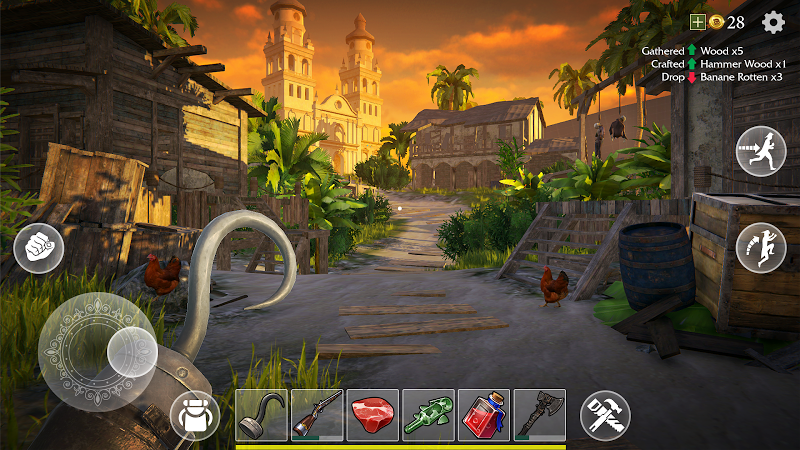 Last Pirate: Island Survival Screenshot 2