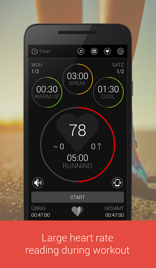 Tabata Workout Timer for HIIT Screenshot 5