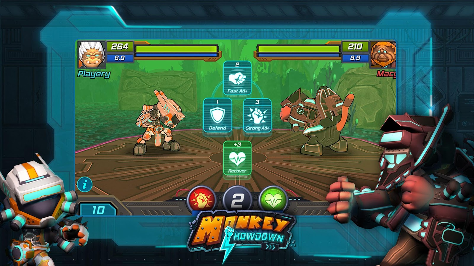 Monkey Showdown Screenshot 1
