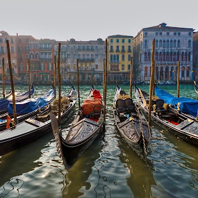 Venice by Joana Kruse - Transportation Boats