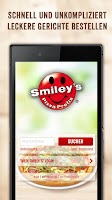 Screenshot of Smiley's Pizza Profis
