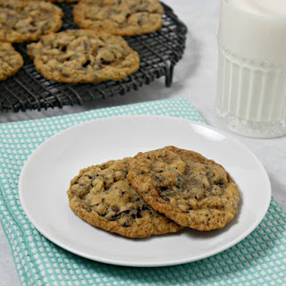 Sweet and Salty Oatmeal Cherry Chocolate Chunk Cookies