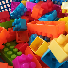 Lego of colors by Adoracion Bautista - Artistic Objects Toys ( colors, lego,  )