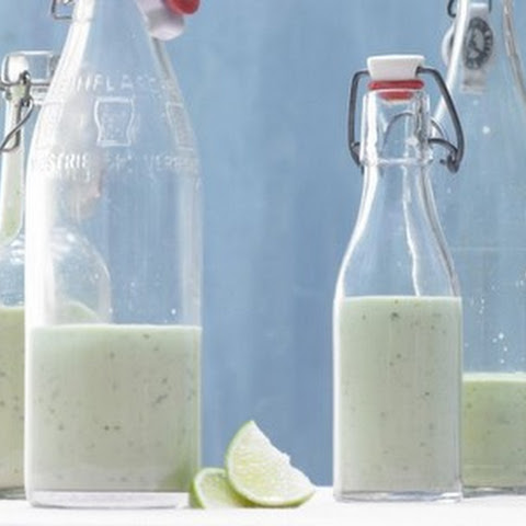 Avocado Smoothie with Yogurt and Wasabi