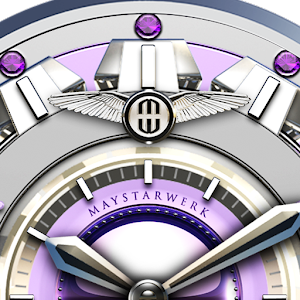 Purple Lotus Watch Face