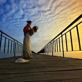 Romantic Jetty by Alit  Apriyana - Landscapes Travel