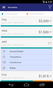 FBA Flex Benefits - screenshot