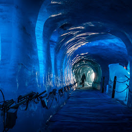 Ice cave by Tzvika Stein - Landscapes Caves & Formations