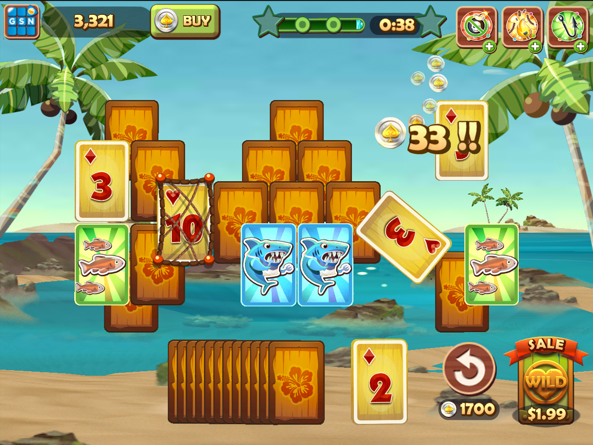 Solitaire TriPeaks Screenshot 5