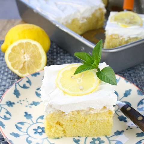 Lemon-Pineapple Poke Cake