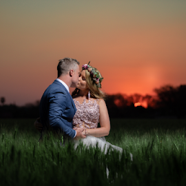 Sunsets by Lood Goosen (LWG Photo) - Wedding Bride & Groom ( bride, love, wedding dress, wedding photography packages, groom, couple, wedding photographer, wedding photography, bride groom, weddings, wedding day, wedding photographers, lwg photo, lood goosen, wedding photographers pretoria, sunset, best wedding photographers, wedding photographer gauteng, wedding )