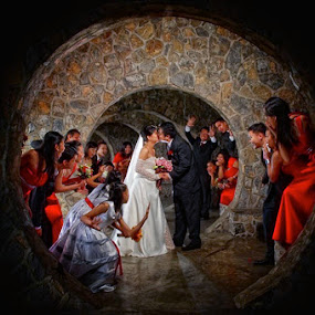 GOTCHA! by Rolando Pascua - Wedding Bride & Groom