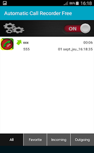 Automatic Call Recorder Free - screenshot
