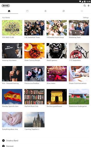 BAND - Organize your groups screenshot 8