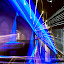 Garhoud Bridge Dubai by Reggie Talledo - Abstract Light Painting