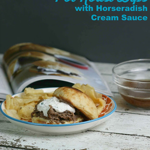 Pot Roast Dips with Horseradish Cream Sauce {#TheMagicalSlowCooker}