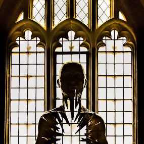 contemplation by Balan Gratian - Buildings & Architecture Statues & Monuments ( history, bartholomew church, church, london church, historycal church )