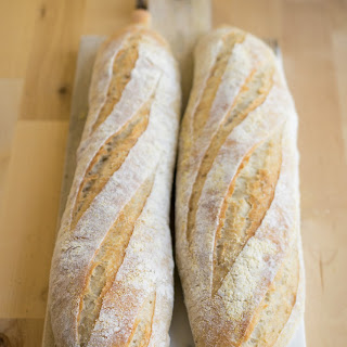 French Bread Using Poolish