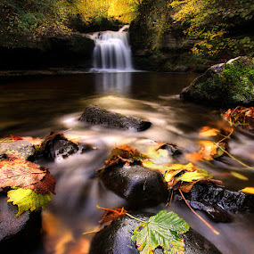 Cauldron Falls by Wolfy Pic - Landscapes Waterscapes