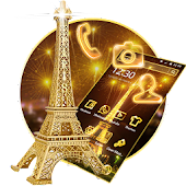 APK App Golden Paris Eiffel Tower for BB, BlackBerry