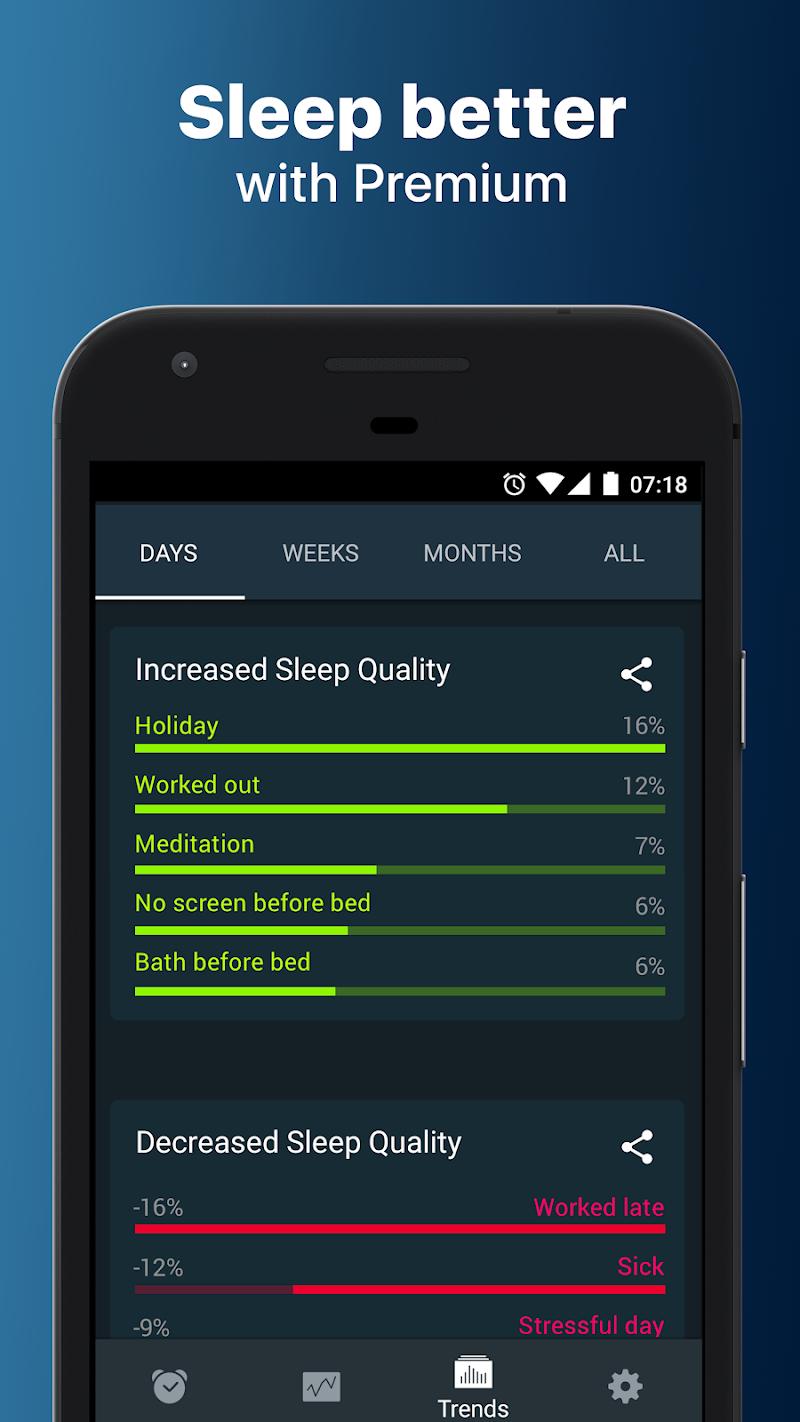 Sleep Cycle: sleep analysis & smart alarm clock Screenshot 4