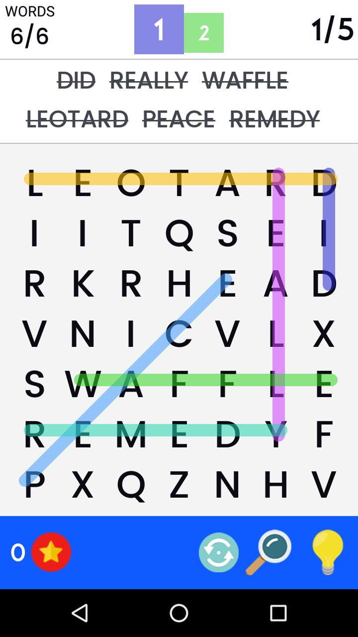 Word Search Screenshot 3