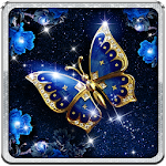 Posh Butterfly Live Wallpaper Icon