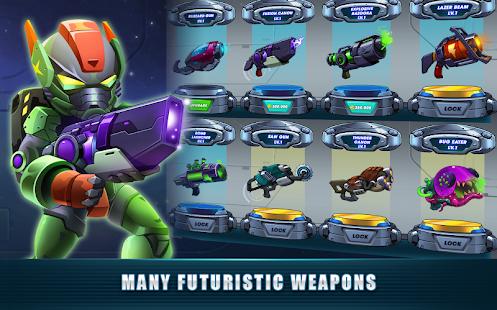 Mega Shooter: Infinity Space War (Galaxy Heroes)