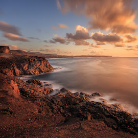 El Cotillo by Ryszard Lomnicki - Landscapes Cloud Formations ( clouds, canary islands, seascapes, sunset, long exposure, canary, sunrise, landscapes, fuerteventura, longexposure, spain, el cotillo,  )