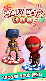 Candy Hero: Dash Runner - screenshot