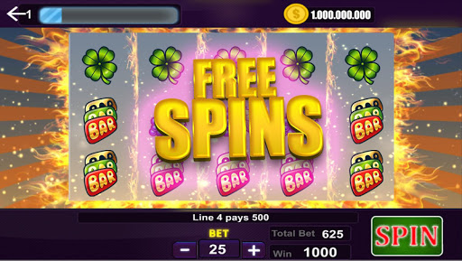 Slot Machine Spins - screenshot