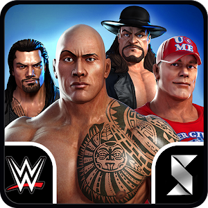 WWE Old School. WWE New School. Fight in a Match 3 Puzzle RPG #LetsSettleThis APK Icon