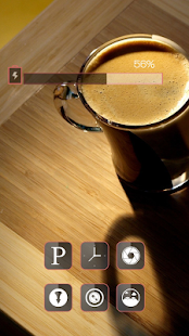 Fragrant coffee theme - screenshot
