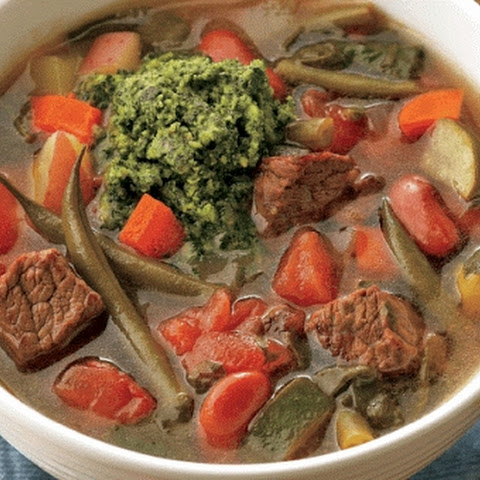 French Beef Stew Au Pistou Recope