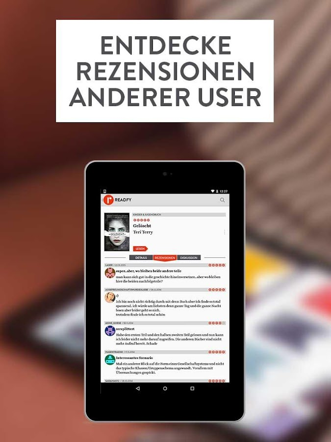 readfy - eBooks gratis lesen Screenshot 10