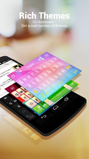 Russian Language - GO Keyboard screenshot 2
