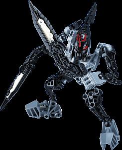 """Конструктор """"RoboBlock"""" Черный Воин S"""