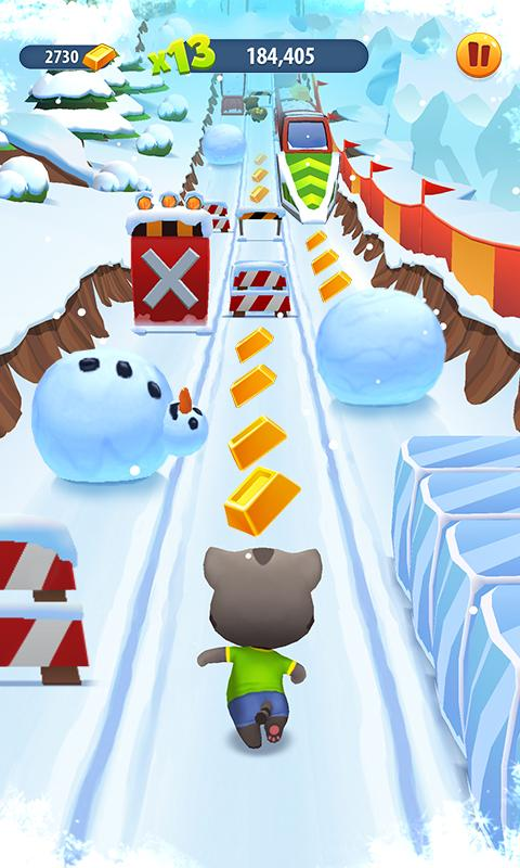 Talking Tom Gold Run Screenshot 2