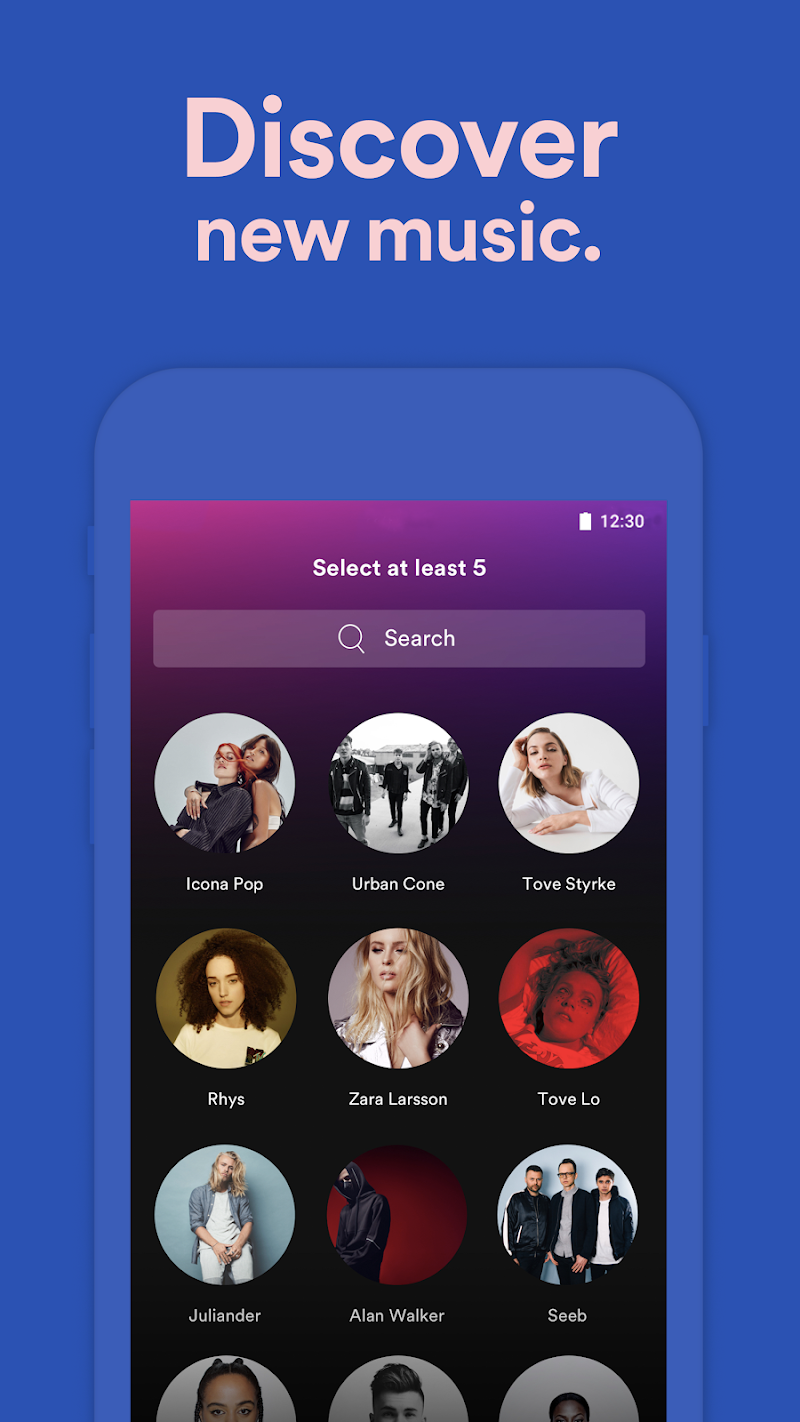 Spotify Music Screenshot 2