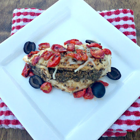 Tapenade Stuffed Mediterranean Chicken