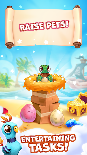 Pirate Treasures - Gems Puzzle screenshot 14