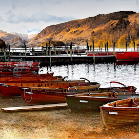 by Stephen Hooton - Transportation Boats ( lakes, places )