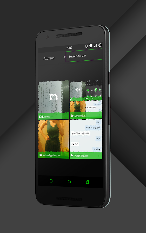 Sense Black/Green cm13 theme Screenshot 14