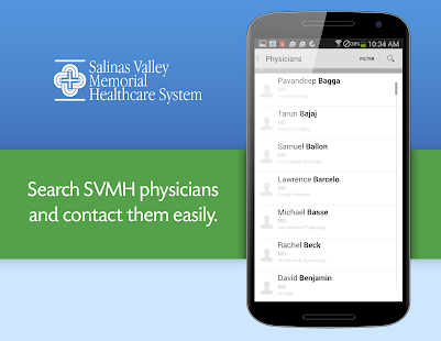 Salinas Valley Memorial Health - screenshot